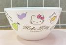 【震撼精品百貨】Hello Kitty 凱蒂貓~Sanrio HELLO KITTY塑膠碗/美耐皿碗-鄉村#23675
