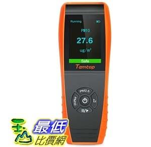 [9美國直購] PM2.5/PM10 空氣品質測量儀 Temtop P600 Air Quality Laser Particle Detector Professional Meter
