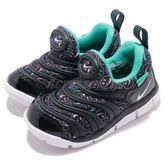 Nike 慢跑鞋 Dynamo Free SE TD 毛毛蟲 黑 藍 運動鞋 童鞋 小童鞋【PUMP306】 AA7217-003