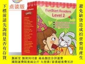 二手書博民逛書店聽讀英語分級閱讀FunStart罕見Readers Level