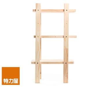 特力屋 松木可續接三層架 深18.6x寬33x高60cm