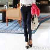 黑色休閒長褲子女春夏裝新款西裝褲寬鬆直筒工裝職業工作上班 糖糖日系森女屋