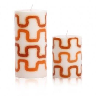 摩登線條-檀香木香氛手工蠟燭組