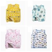卡通鋪棉寶寶背心 嬰幼兒雙面穿秋冬童裝 CAR12095 好娃娃