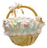 娃娃屋樂園~天使情人-囍糖籃+100枝棉花糖 每籃1550元/婚禮小物/送客禮