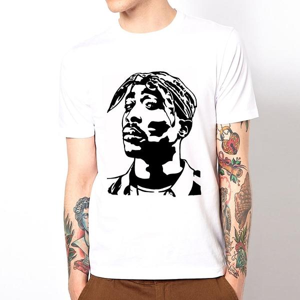 TUPAC-Face短袖T恤-2色 2PAC 嘻哈rap hip hop Jay Z人物樂團音樂