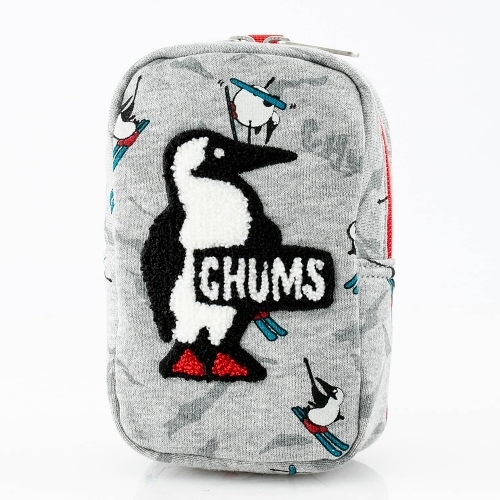 CHUMS Vertical Pouch Sweat 收納包 Booby 滑雪 CH602809Z131【GO WILD】