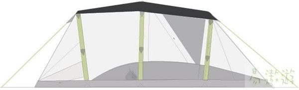 Zempire 紐西蘭 AR 帳篷頂蓋TM 160339 充氣帳篷配件 頂布 防水布 [易遨遊]