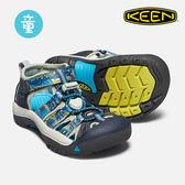 KEEN 小童款 織帶涼鞋Newport H2 1018257 / 城市綠洲 (KIDS、水陸兩用、織帶鞋面、戶外休閒、運動涼鞋)