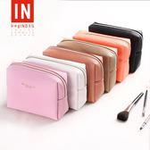 化妝包大容量收納包小號正韓便攜簡約可愛化妝品包多功能
