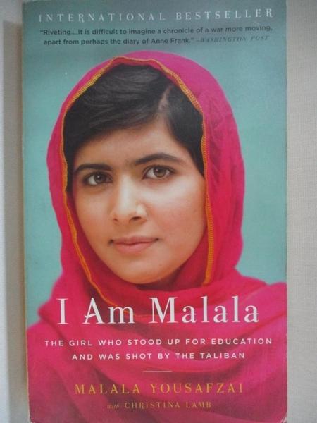 【書寶二手書T1/傳記_BUM】I Am Malala_Malala Yousafzai