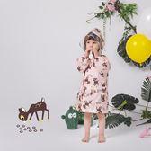 韓國has 薄款雨衣長款兒童 雨衣薄款夏季防曬衣寶寶幼兒園雨衣