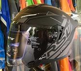 RSV安全帽,VENON,極限/消光黑灰