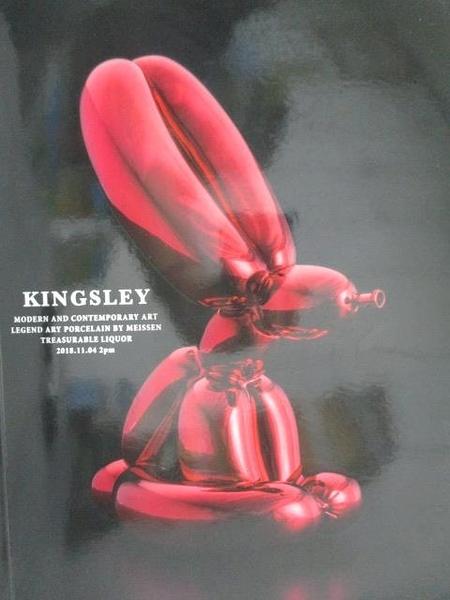 【書寶二手書T6/收藏_YIZ】Kingsley 2018 Taipei Autumn Auction_Modern…2