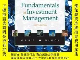 二手書博民逛書店Fundamentals罕見Of Investment Management + Pass CardY3646