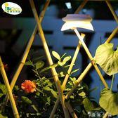 太陽能燈戶外庭院燈圍牆牆壁燈院子花園別墅陽台露台迷你裝飾壁燈 WD  薔薇時尚