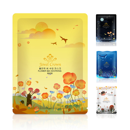 韓國 Jewel Crown星空系列面膜(單片) 25g 面膜