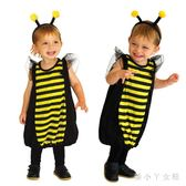 萬圣節兒童服裝 寶寶演出服裝cosplay化妝舞會男女可愛小蜜蜂服裝 df5536【潘小丫女鞋】