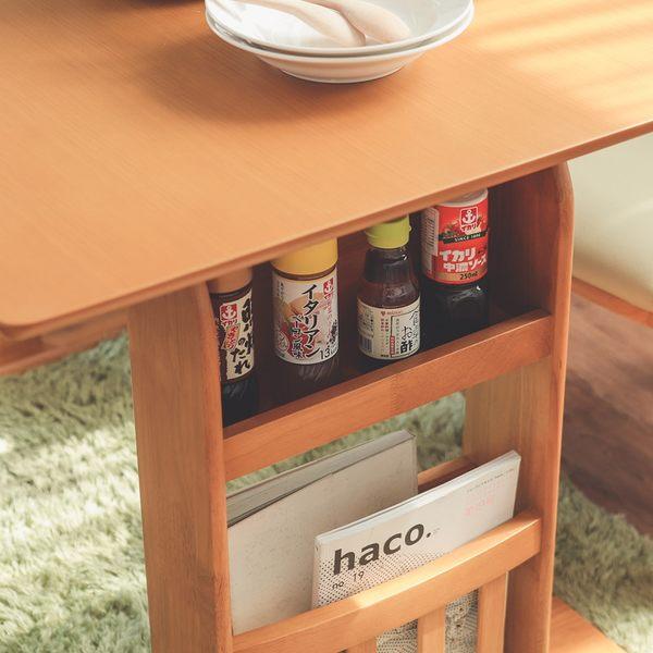 折疊餐桌 餐桌椅 伸縮 北歐【Y0571】Peachy 2~4人可伸縮餐桌椅四件組(兩色) 收納專科