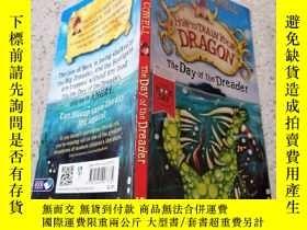 二手書博民逛書店how罕見to train your dragon the day of the dreader:如何訓練你的龍在