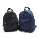 New Balance 休閒款 雙肩後背包 小後背 LAB91022- 黑/藍【iSport愛運動】