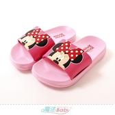 女童鞋 迪士尼米妮授權正版美型拖鞋 魔法Baby