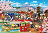 【拼圖總動員 PUZZLE STORY】史努比 日本旅遊  日本進口拼圖/Epoch/史努比/1053P