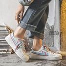 2020休閒學生帆布鞋子女ulzzang百搭韓版網紅小白鞋板鞋洋氣【全館免運】