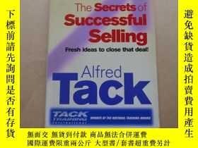 二手書博民逛書店The罕見Secrets Of Successful Selling: Fresh Ideas To Close