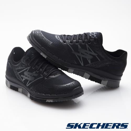 SKECHERS (女) 健走系列 GO Flex - 14017BKGY