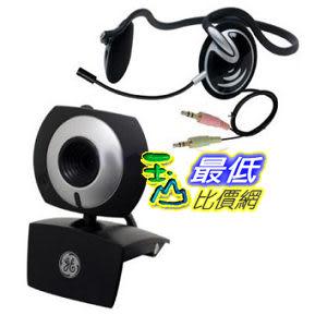 [美國直購 ShopUSA] 身歷聲耳機 GE 1.3 MP MiniCam Pro with PC Stereo Headset - 98003 $766