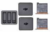 【】DJI OSMO Action 充電管家套裝 Part 3 (含充電器+電池*2+電池盒*2)