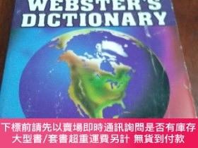 二手書博民逛書店NEW罕見WEBSTER S DICTIONARY,EXPANDED EDITION 新韋氏詞典,擴充版(英文原版