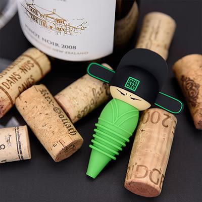 【收藏天地】文創禮品*官帽系列酒瓶塞-大夫 /創意小物 紅酒 歷史 安全矽膠 送禮