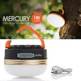 【Selpa】USB充電款 戶外LED野營帳篷燈 USB可充電應急燈 磁鐵吸附掛燈 照明防水燈 營地燈