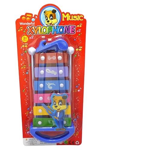 六音敲琴嬰兒寶寶趣味益智早教手敲琴音樂玩具