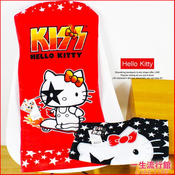 《最後5個》Hello Kitty凱蒂貓 正版 兒童 卡通 可愛 中型毛巾 擦手巾 B21069