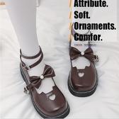 娃娃鞋 日系洛麗塔lolita厚底女鞋可愛蘿莉淺口圓頭原宿軟妹小皮鞋 - 風尚3C