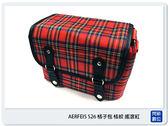 【現貨出清】 AERFEIS 阿爾飛斯 S26 蘇格蘭風 格子 斜背 相機包 (公司貨)