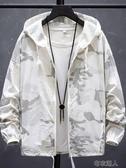 防曬服男2020夏季冰絲新款外套韓版潮流外衣男裝超薄透氣防曬衣天 布衣潮人