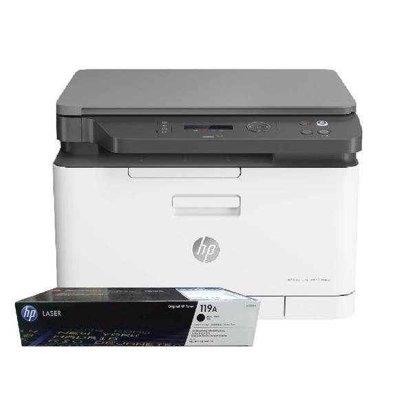 【搭119A原廠碳粉匣一黑】HP Color Laser 178NW 彩色雷射複合機 登錄送好禮