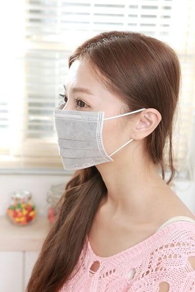 【雨晴牌-抗UV四層活性碳不織布口罩】(A級高效能) 防廢棄味SGS合格柔軟舒適耳朵不痛 抗UV達99%
