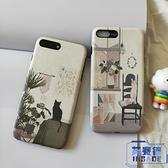 小米手機殼9/9se/8/8se浮雕保護套貓咪【英賽德3C數碼館】