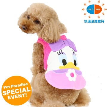 【PET PARADISE 寵物精品】Disney 黛西薄毛巾布背心【恆溫衣】(3S/DSS) 狗衣服  寵物衣服 《SALE》