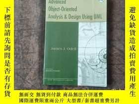 二手書博民逛書店Advanced罕見Object-Oriented Analysis and Design Using UML