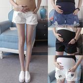 孕婦牛仔短褲時尚薄款寬鬆外穿潮媽夏裝打底褲子 千千女鞋