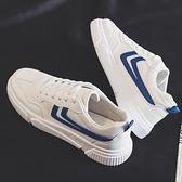 帆布鞋 2021夏季新款透氣帆布潮鞋韓版潮流男鞋百搭休閒小白板鞋低幫布鞋 歐歐