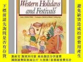 二手書博民逛書店Western罕見Holidays and Festivals(