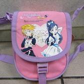 雪黛屋光之美少女小肩側包隨身物品 包萬用包防水尼龍手提   貨PCO1020 粉紅