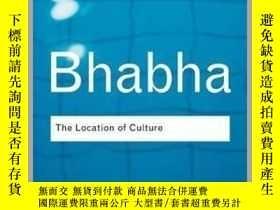 二手書博民逛書店文化的位置罕見The Location of CultureY124423 Homi K. Bhabha Ta